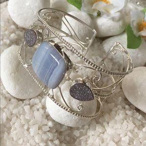 Jewelry - 🎉💙GORGEOUS CUFF BRACELET🛍🛍